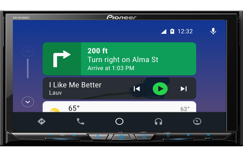 Pioneer AVH-W4400NEX Android Auto