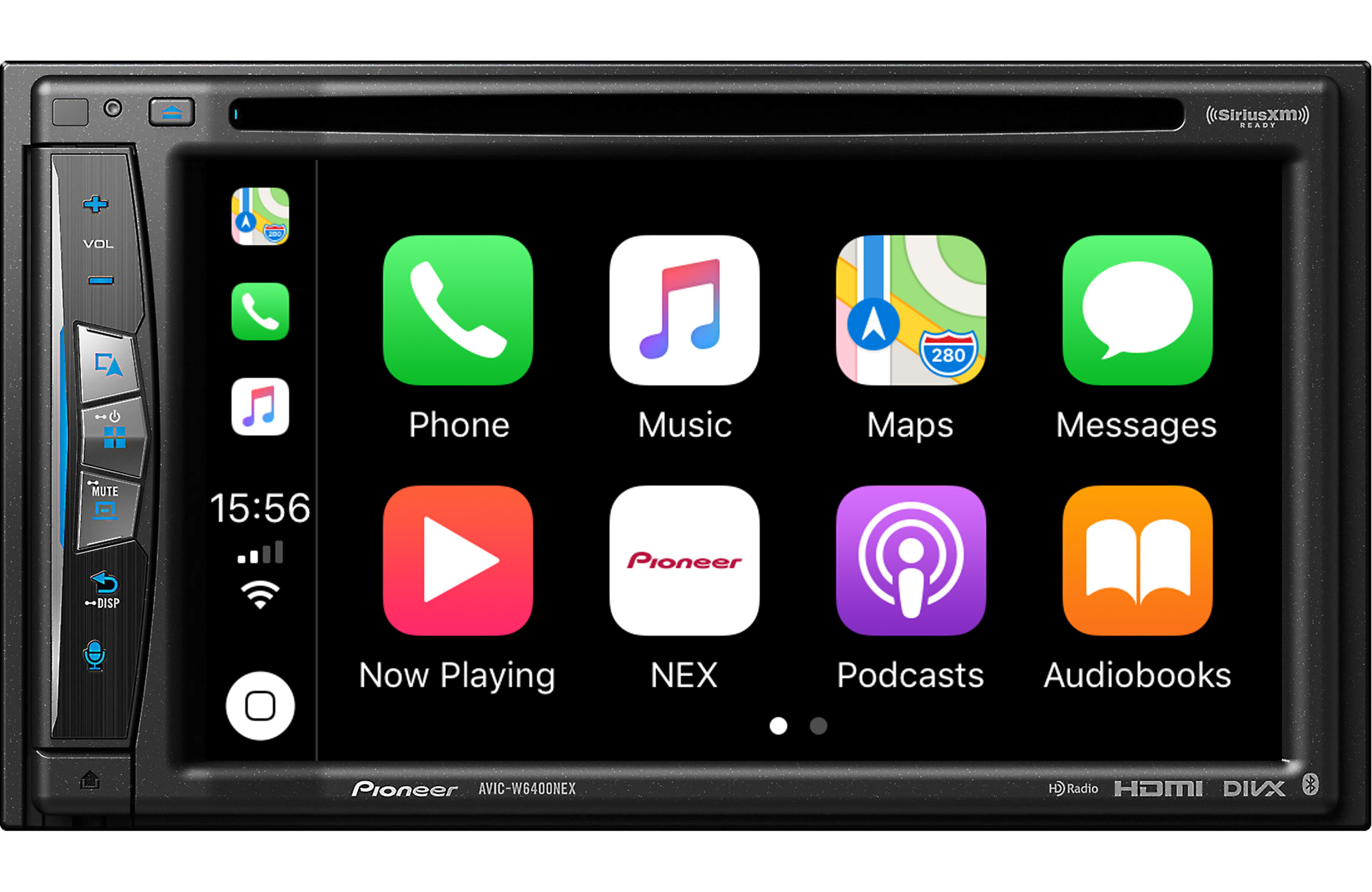 Pioneer AVIC-W6400NEX Wireless Apple CarPlay