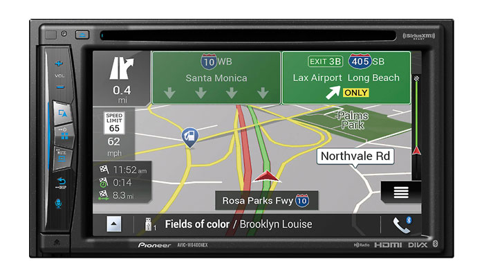 pioneer launches new wireless android auto and apple. Black Bedroom Furniture Sets. Home Design Ideas