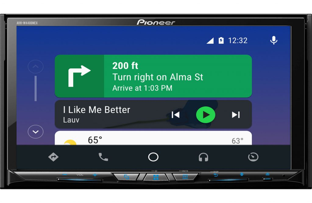 Pioneer AVH-W4400NEX wireless Android Auto and Apple CarPlay
