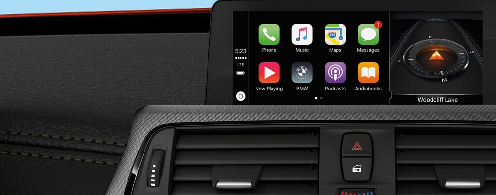 bmw to charge yearly service fee to use apple carplay connected car life. Black Bedroom Furniture Sets. Home Design Ideas