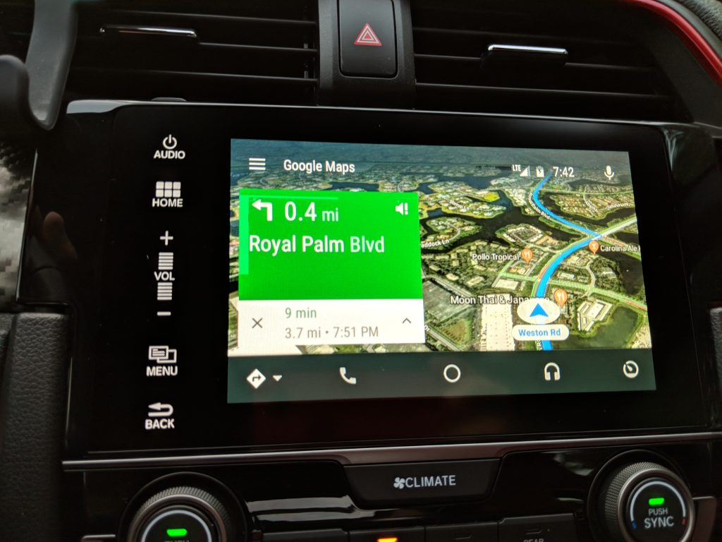Android Auto Gets Satellite View With Google Maps
