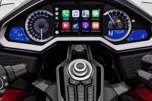 Honda Gold Wing Apple CarPlay