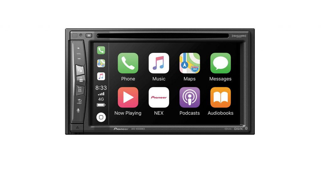 Pioneer AVIC W6500NEX wireless Apple CarPlay