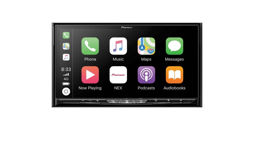 Pioneer AVIC-W8500NEX wireless Android Auto and Apple CarPlay