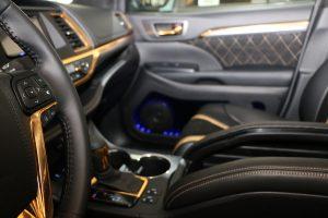 Pioneer Sound Build Off Proline interior