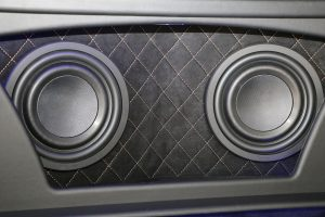 Pioneer Sound Build Off Proline interior subwoofer
