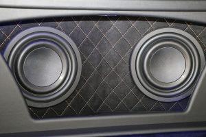 Pioneer Sound Build Off Proline interior subwoofer