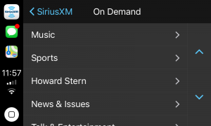 SiriusXM Comes to Apple CarPlay