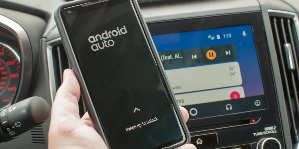 Android Auto Swipe to Unlock