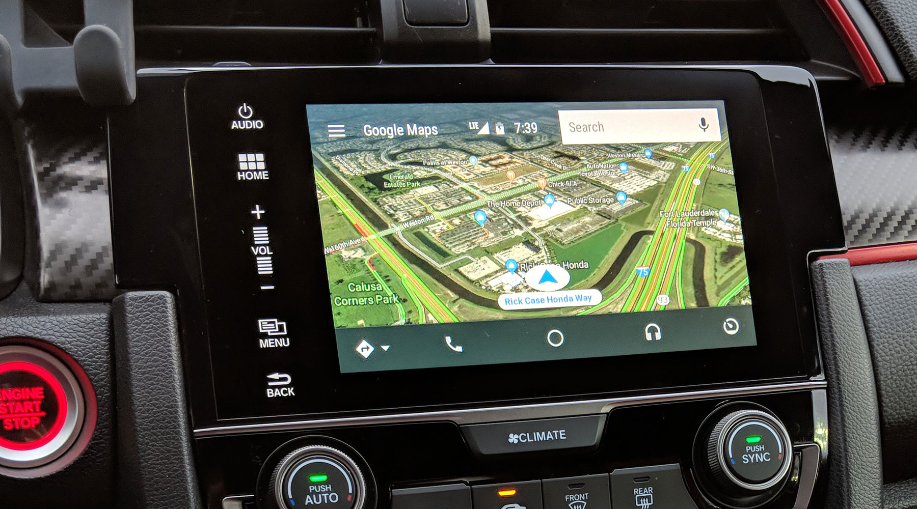 Android Auto Gets Satellite View With Google Maps Connected Car