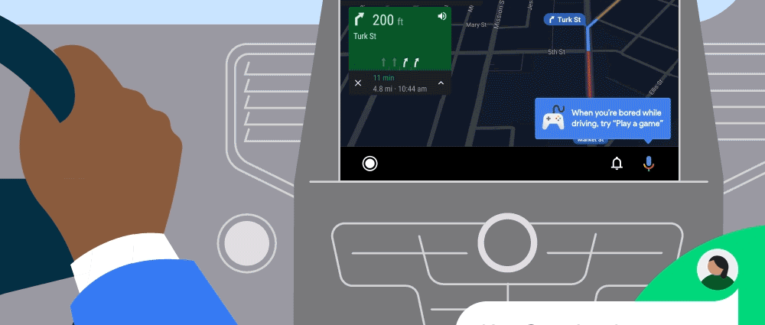 Play Games with Android Auto via voice controlled Google Assistant